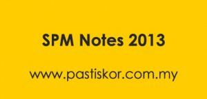 spm notes