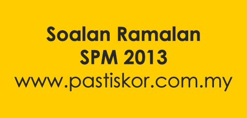 more on Pakej kertas soalan ramalan matematik upsr,pmr & spm 2013