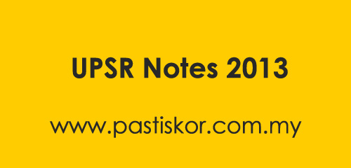 UPSR Notes 2013 is available in our notes section. Download from the